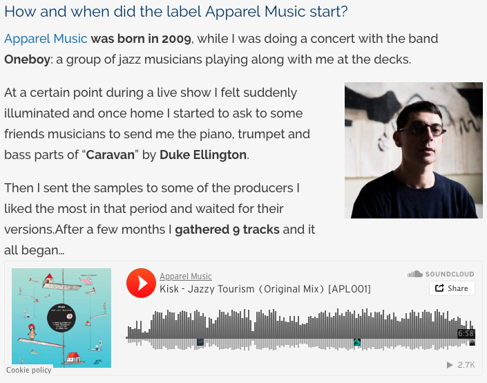 "DYLTS Interview with Apparel Music: ""We got more than 1000"