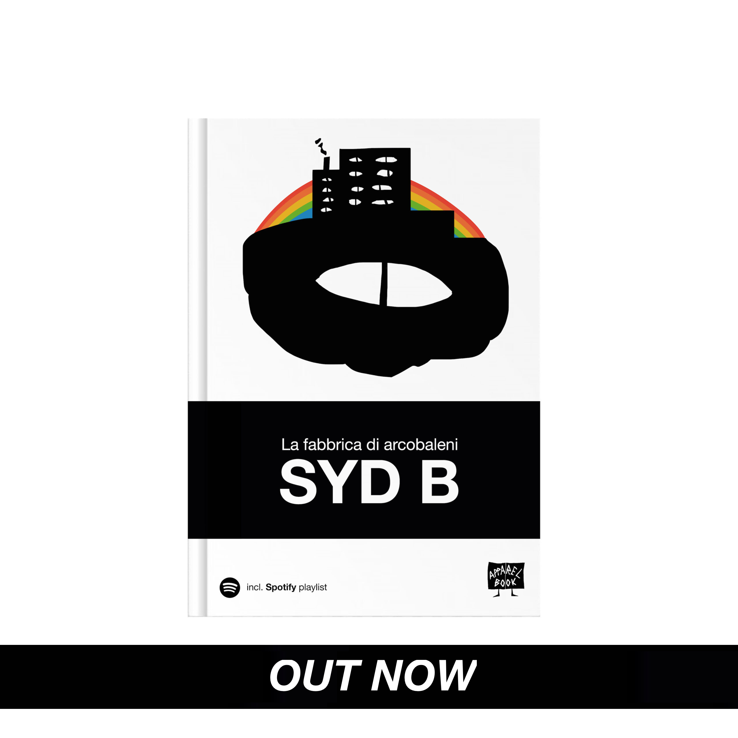 Out now 'La fabbrica di Arcobaleni' by Syd B