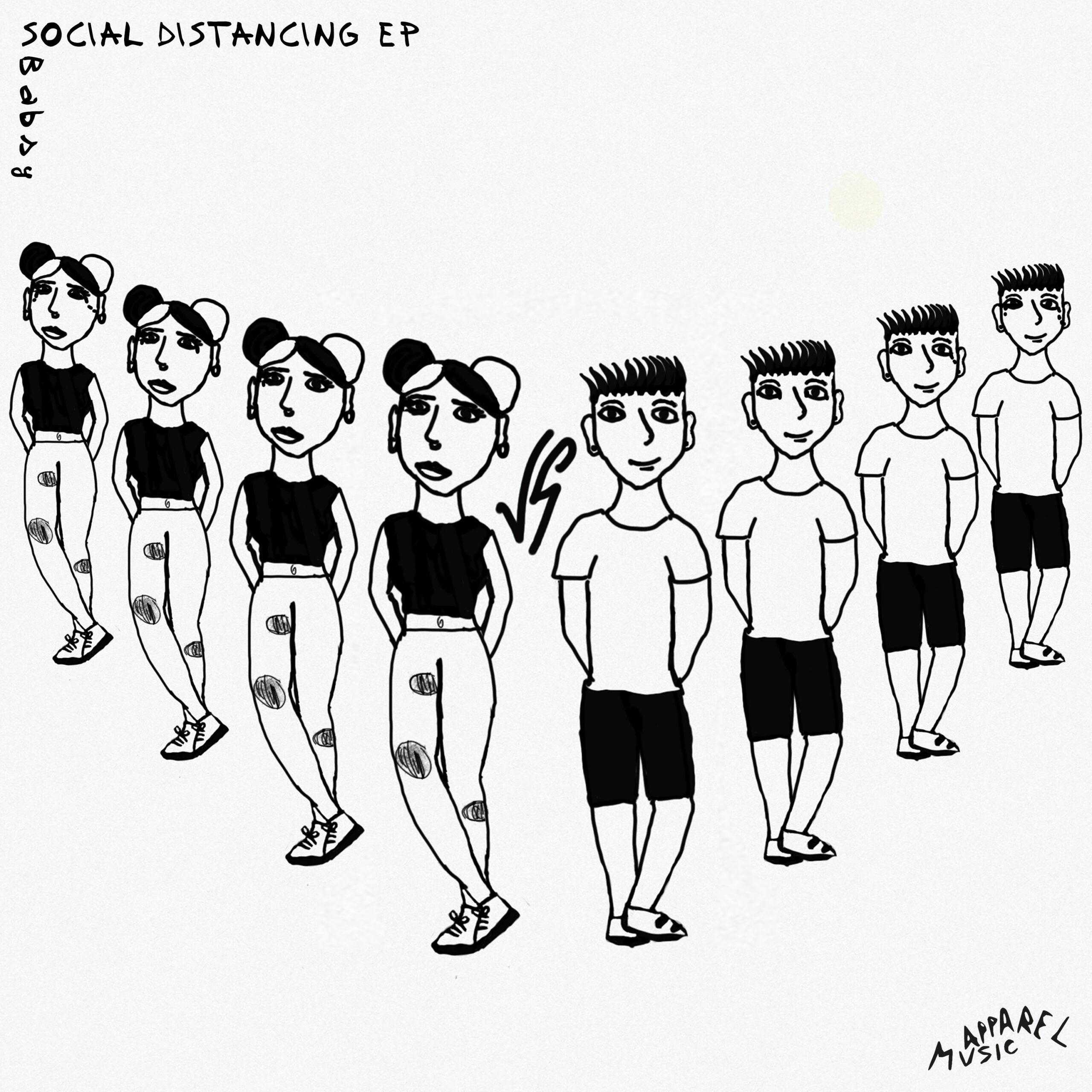 Out now 'Social Distancing' EP by Babsy