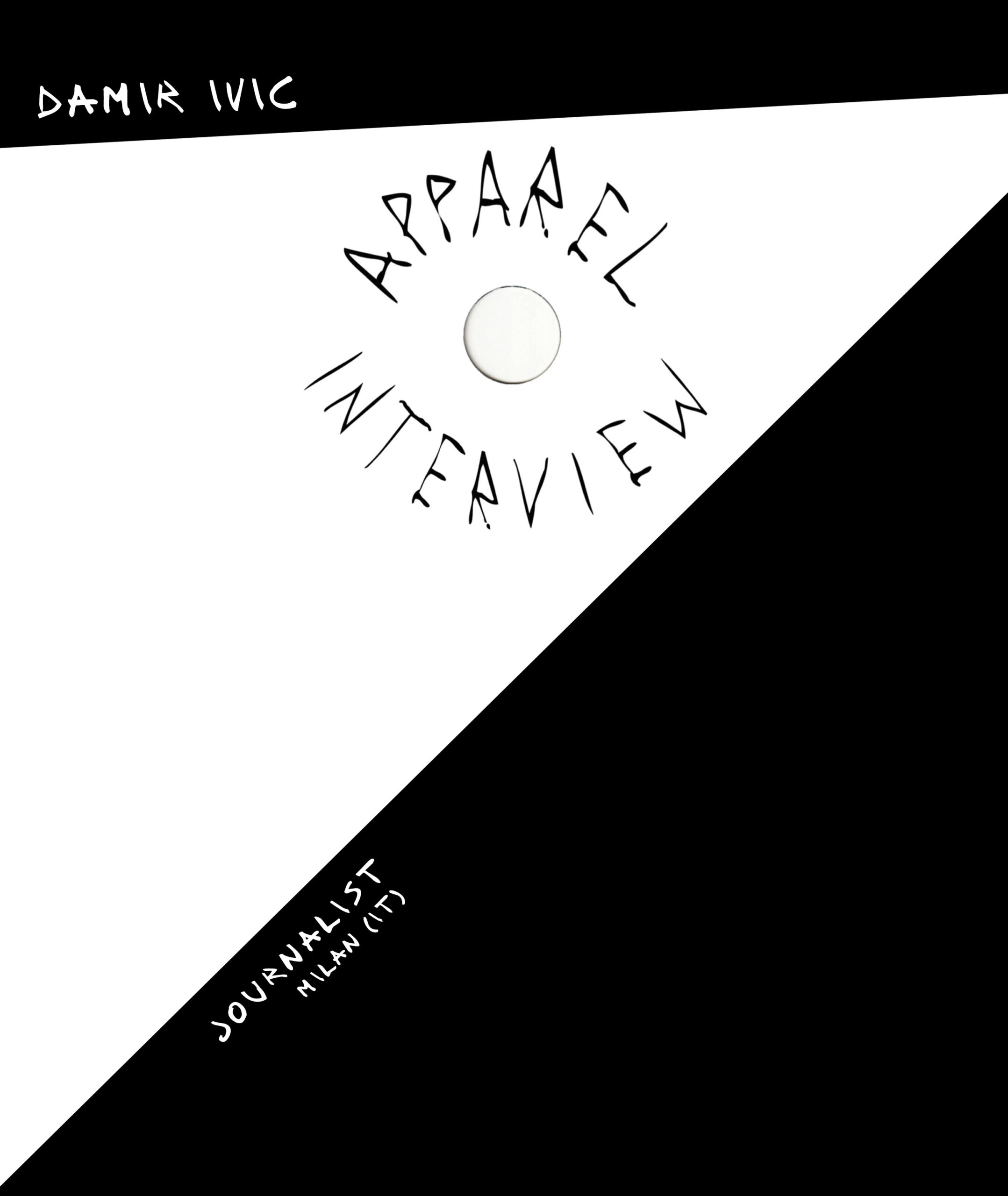 APPAREL INTERVIEW: Damir Ivic [Milan]