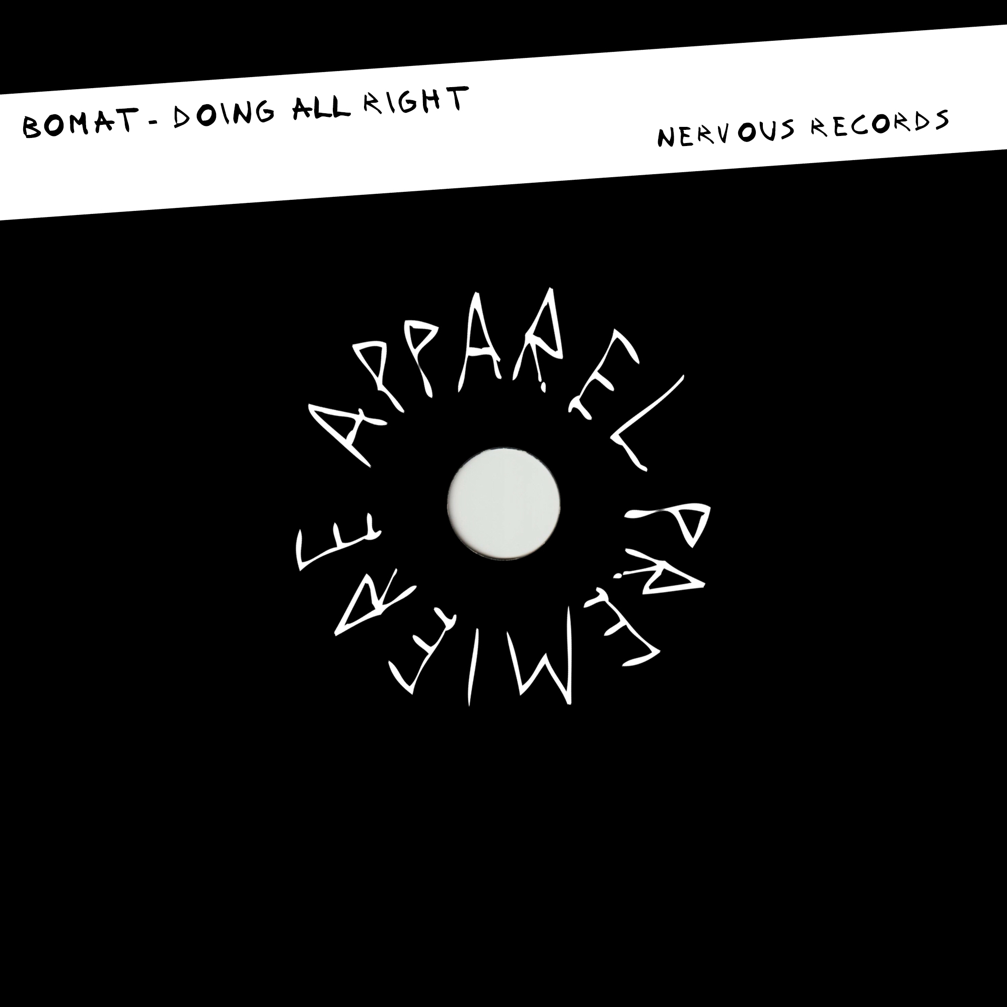 APPAREL PREMIERE: Bomat – Doing All Right [Nervous Records]