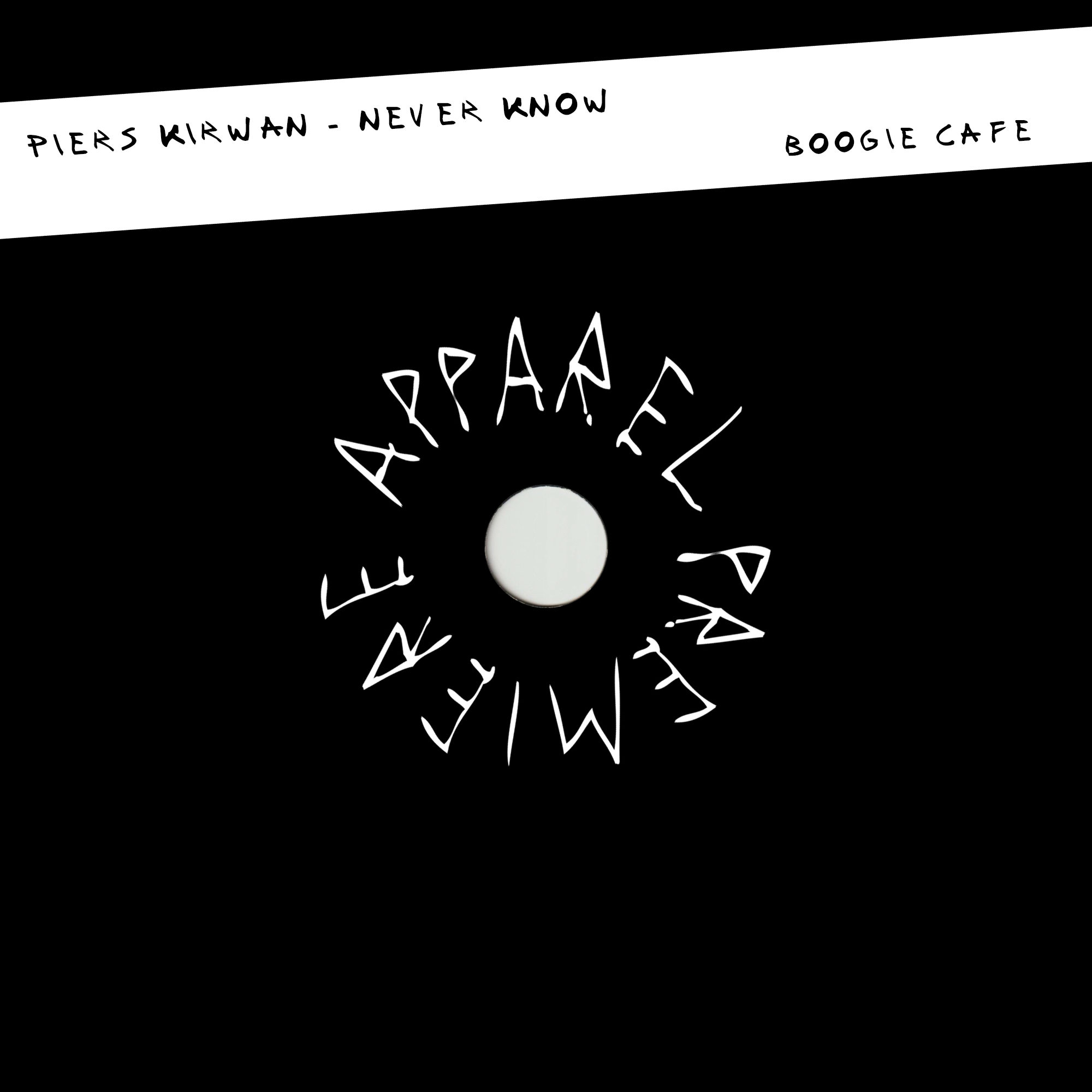 APPAREL PREMIERE Piers Kirwan – Never Know [Boogie Cafe]